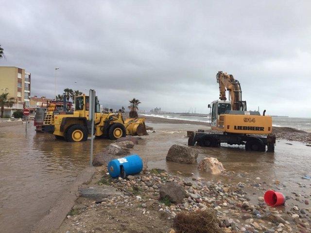 Inundaciones en Almassora