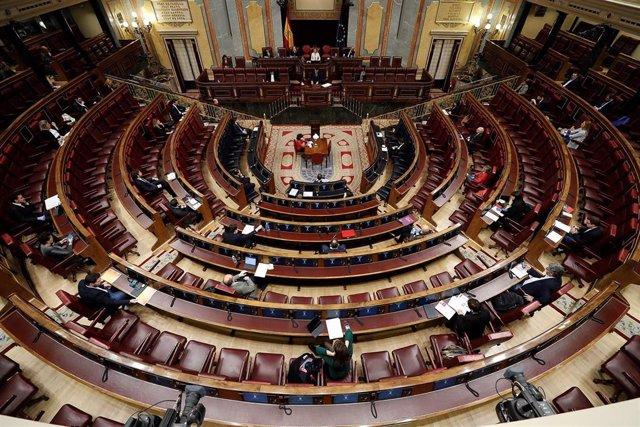 El hemiciclo del Congreso
