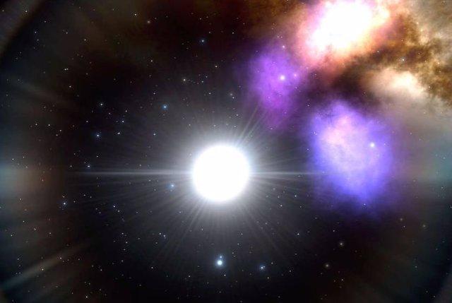 Identifican un látido armónico entre estrellas pulsantes
