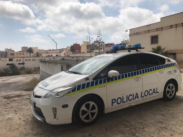 Un coche de Policía Local de Melilla