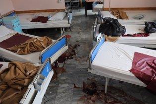 Hospital atacado