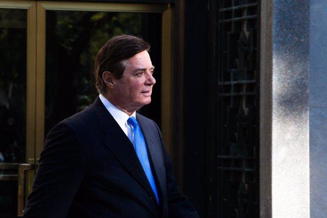 EEUU.- Manafort, exjefe de campaña de Trump, excarcelado por temor a que se cont