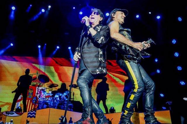 Klaus Meine y Matthias Jabs, de Scorpions, en el Download Festival de Madrid