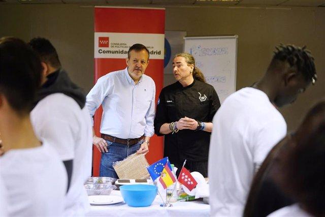Consejero de Políticas Sociales, Alberto Reyero