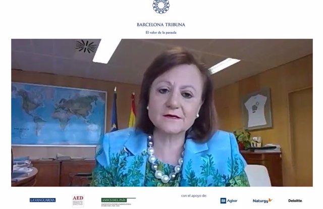 """Coronavirus.- Cristina Gallach reclama que la UE """"reaccione con todo el músculo"""