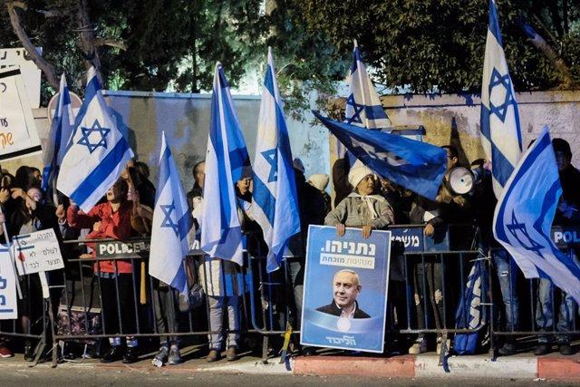 Israel.- El fiscal general denuncia haber recibido amenazas de muerte a menos de