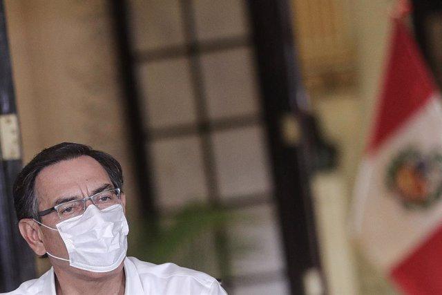 Coronavirus.- Vizcarra asegura que Perú ha superado el pico de contagios con más
