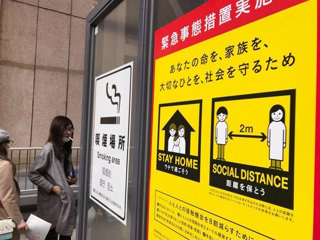 Coronavirus.- Japón anuncia que levantará el estado de emergencia de 39 de las 4
