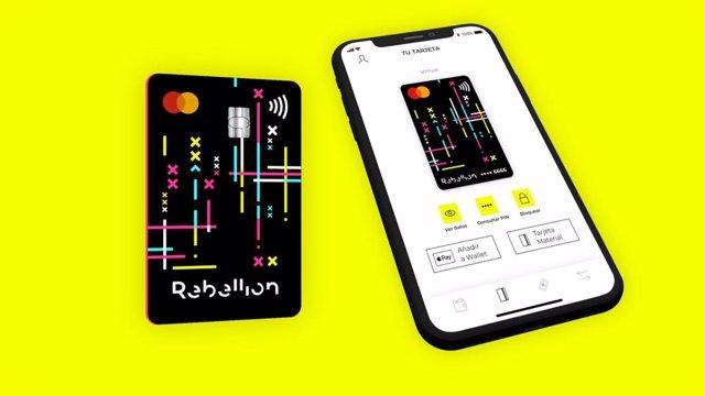 Cuenta y tarjeta Mastercard. Sin comisiones.