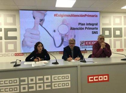 CCOO pide en el Ámbito de Negociación renovar las contrataciones hasta fin de año y mayor inversión en AP