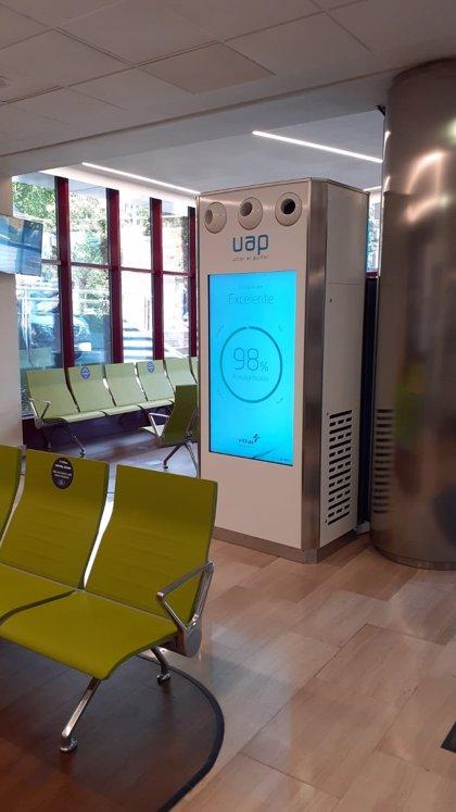 El Hospital Vithas Madrid Arturo Soria instala un purificador de aire que filtra y elimina los virus