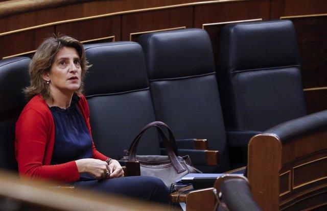 La vicepresidenta cuarta y ministra para la Transición Ecológica, Teresa Ribera
