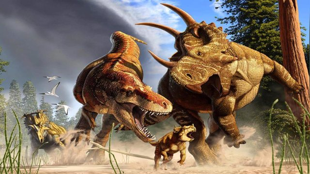 Las patas largas de T. rex eran para recorrer maratones