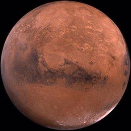 Simulan el núcleo de Marte para comprender su composición y origen