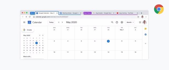 Google Chrome añade los grupos de pestañas personalizables para ayudar a organiz
