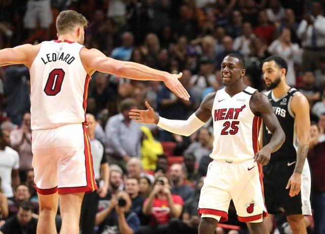 Baloncesto/NBA.- Los jugadores de Miami Heat vuelven a entrenar en la reapertura
