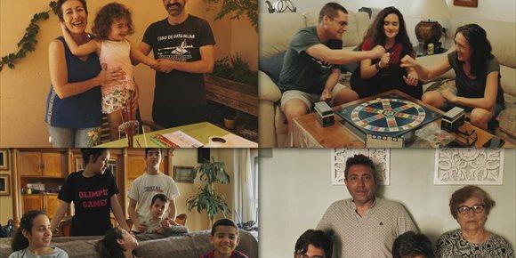 2. Sueños compartidos ante la desescalada para celebrar el 'Día de la Familia' en la Diputación de Almería