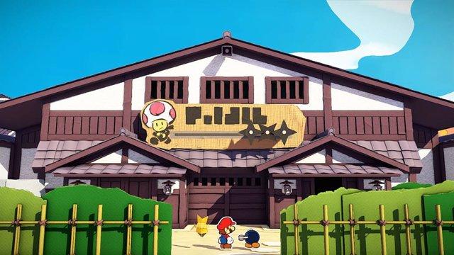 Paper Mario: The Origami King, el nuevo título para Nintendo Switch que llegará