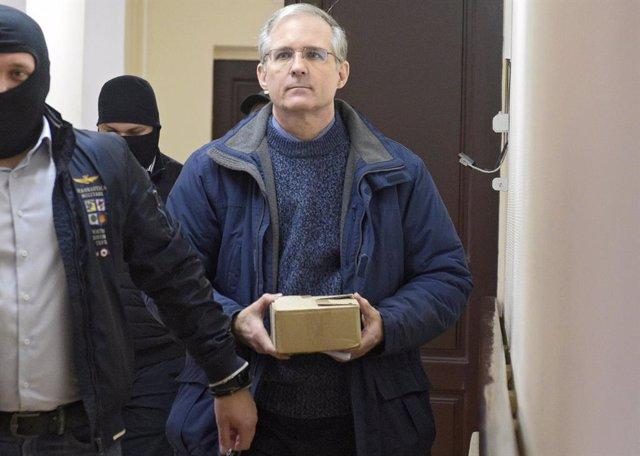 Rusia/EEUU.- Un tribunal de Moscú decide mantener en prisión al ex marine estado