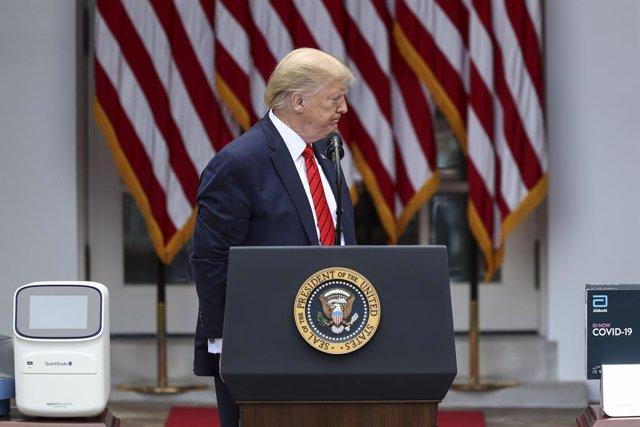 """Coronavirus.- Trump no descarta """"romper toda relación"""" con China por la pandemia"""