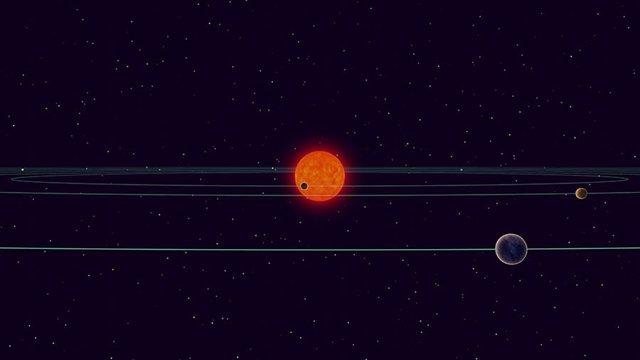 Las órbitas de los mundos terrestres de TRAPPIST-1 no están desalineadas