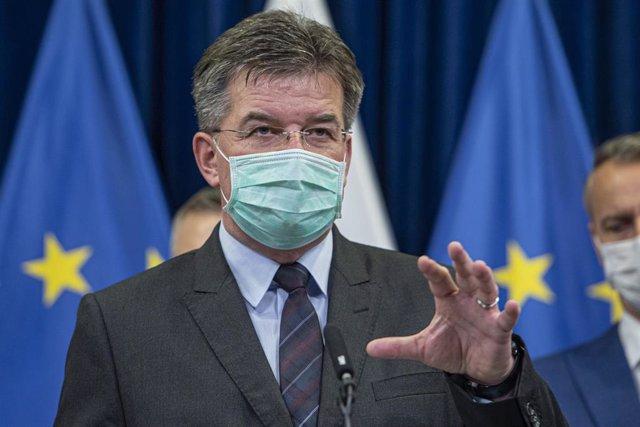 El representante especial de la UE para el diálogo entre Belgrado y Pristina, Miroslav Lajcak