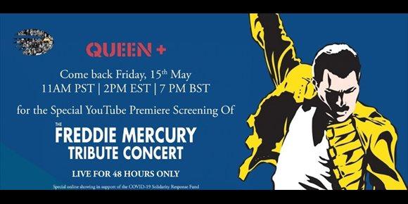 4. Queen comparte en YouTube el macroconcierto de homenaje a Freddie Mercury de 1992