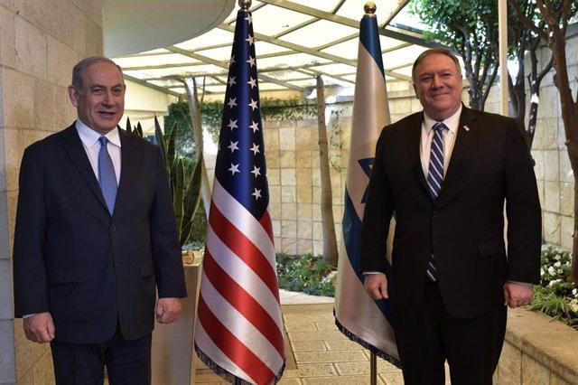 """O.Próximo.- EEUU dice que Netanyahu y Gantz """"tardarán un tiempo"""" en acordar un p"""