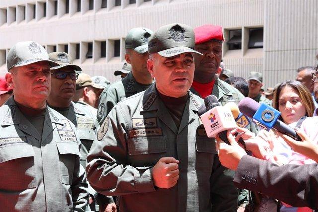 Vladimir Padrino López, ministro de Defensa de Venezuela.