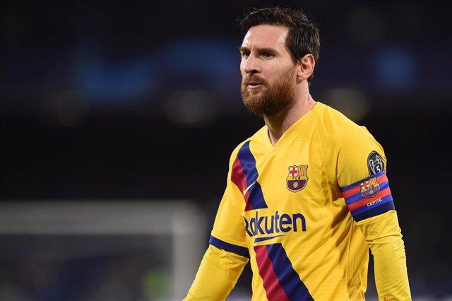 El jugador del Barça Leo Messi