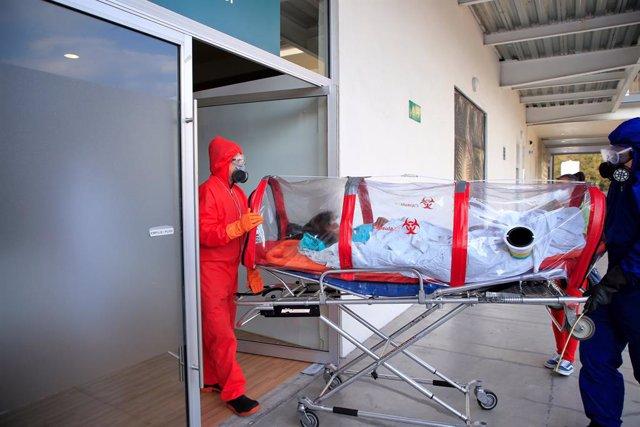 Coronavirus.- México registra más de 2.400 nuevos casos de coronavirus en las úl