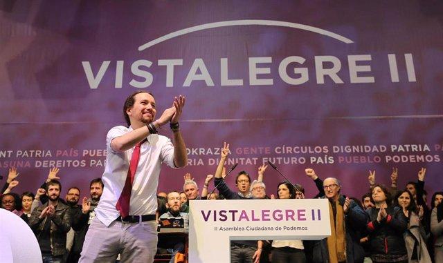 Iglesias en el Congreso de Podemos, Vistalegre II
