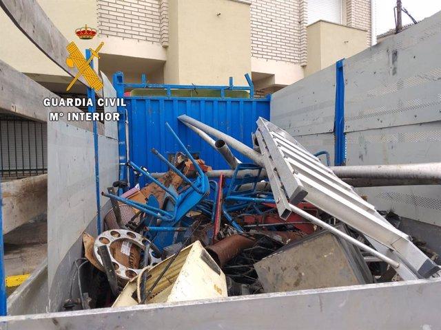 Objetos robados en Casas de Miravete y recuperados por la Guardia Civil
