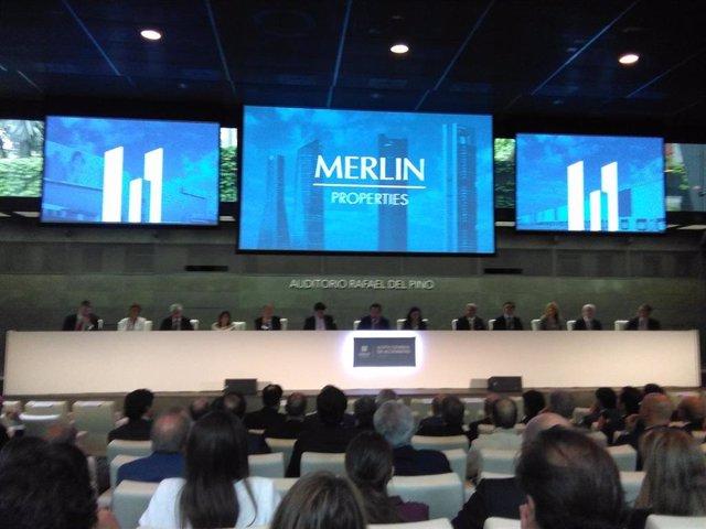 Junta de accionistas 2018 Merlin Properties