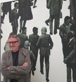 El artista valenciano Juan Genovés