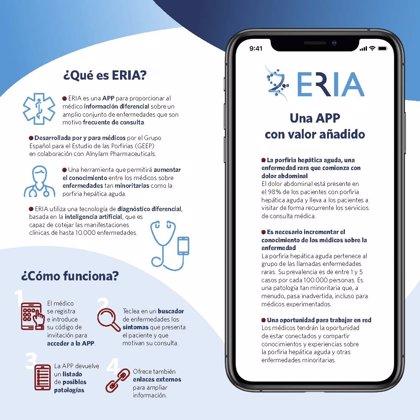 Expertos lanzan una 'app' para facilitar a los médicos el diagnóstico de la porfiria aguda