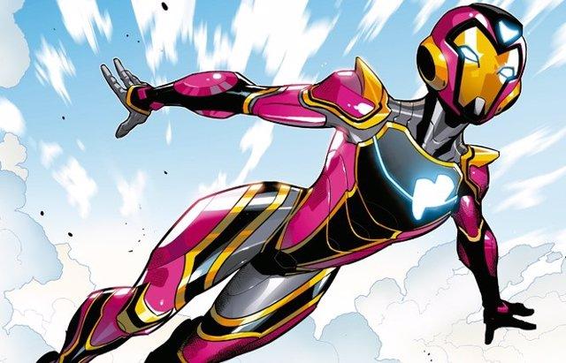 Así sería el traje de Ironheart, la sucesora de Iron Man, en el Universo Marvel