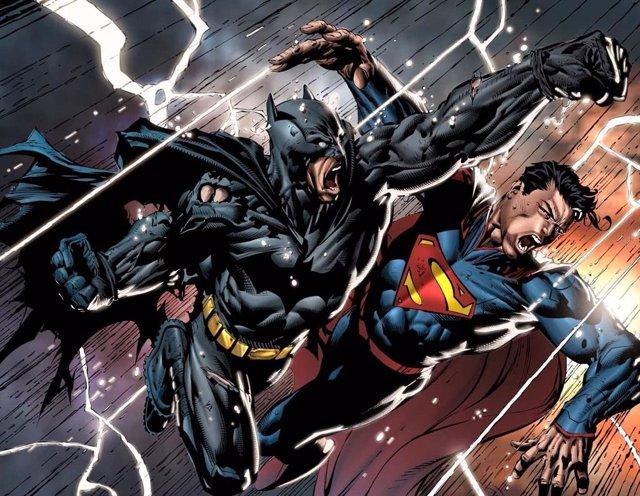 Batman v Superman en los cómics