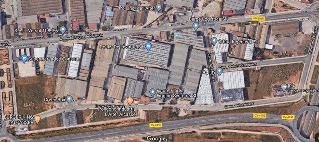 Polígono industrial L'Alter en Alcàsser