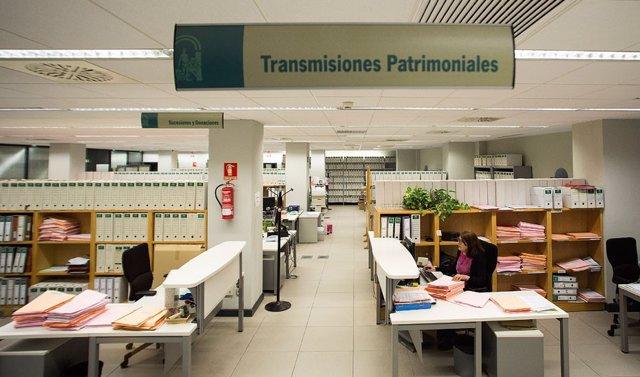 Oficina de la Agencia Tributaria de Andalucía.