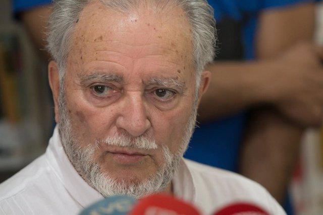 Julio Anguita, en una foto d'arxiu d'Europa Press