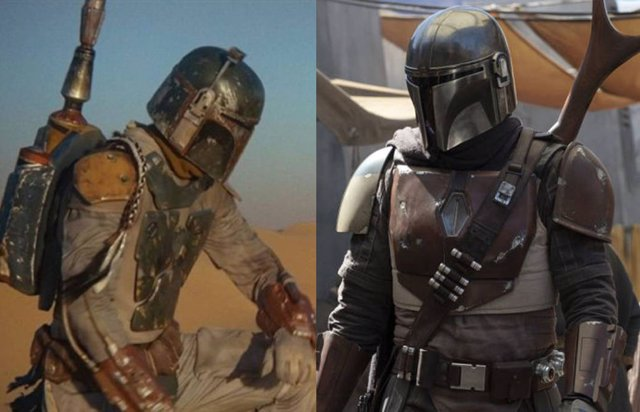 Boba Fett en Star Wars y The Mandalorian