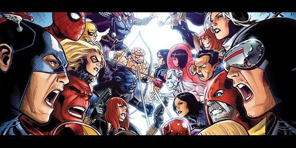 1. Habrá batalla entre Vengadores y X-Men... en los cómics