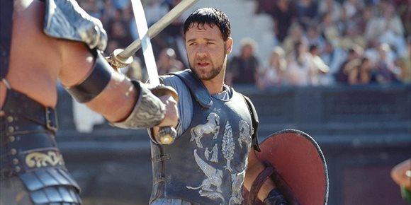 3. Russell Crowe no sabía que Máximo moría en Gladiator
