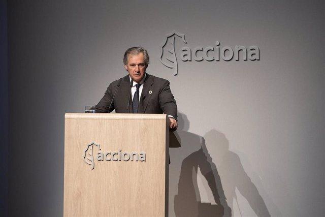 El presidente de Acciona, José Manuel Entrecanales