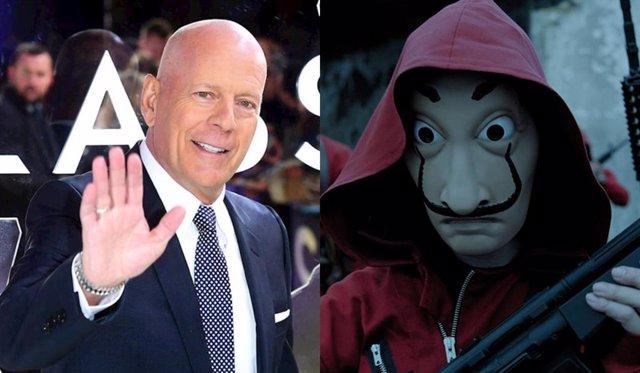 El otro Bruce Willis ficha por La casa de papel