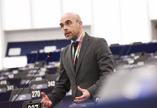 El portavoz de Vox Jorge Buxadé