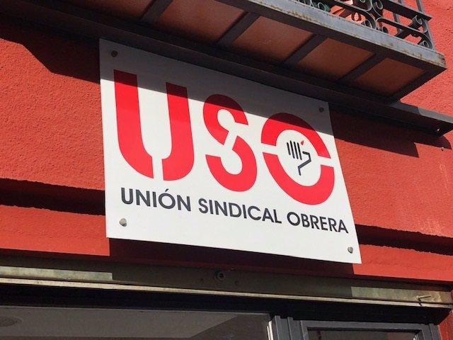 Logo de Unión Sindical Obrera (USO)
