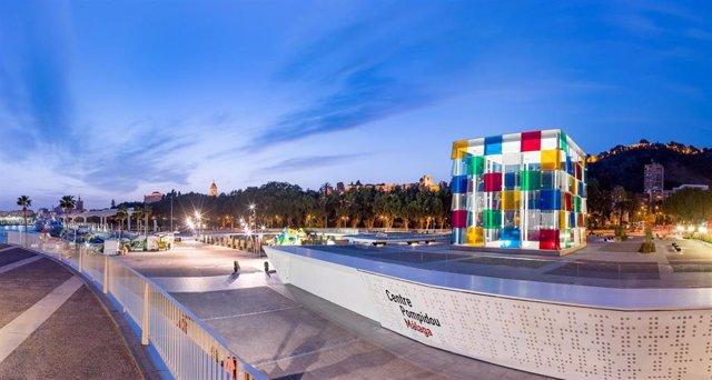 Centre Pompidou Málaga en una imagen de archivo