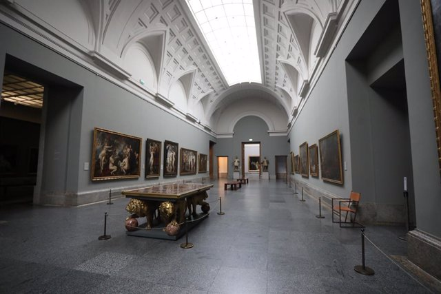 Galería Central del Museo Nacional del Prado